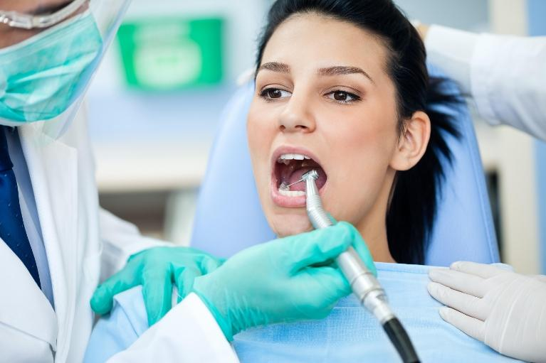 Woman at Dentist | Rockwall TX Dentist