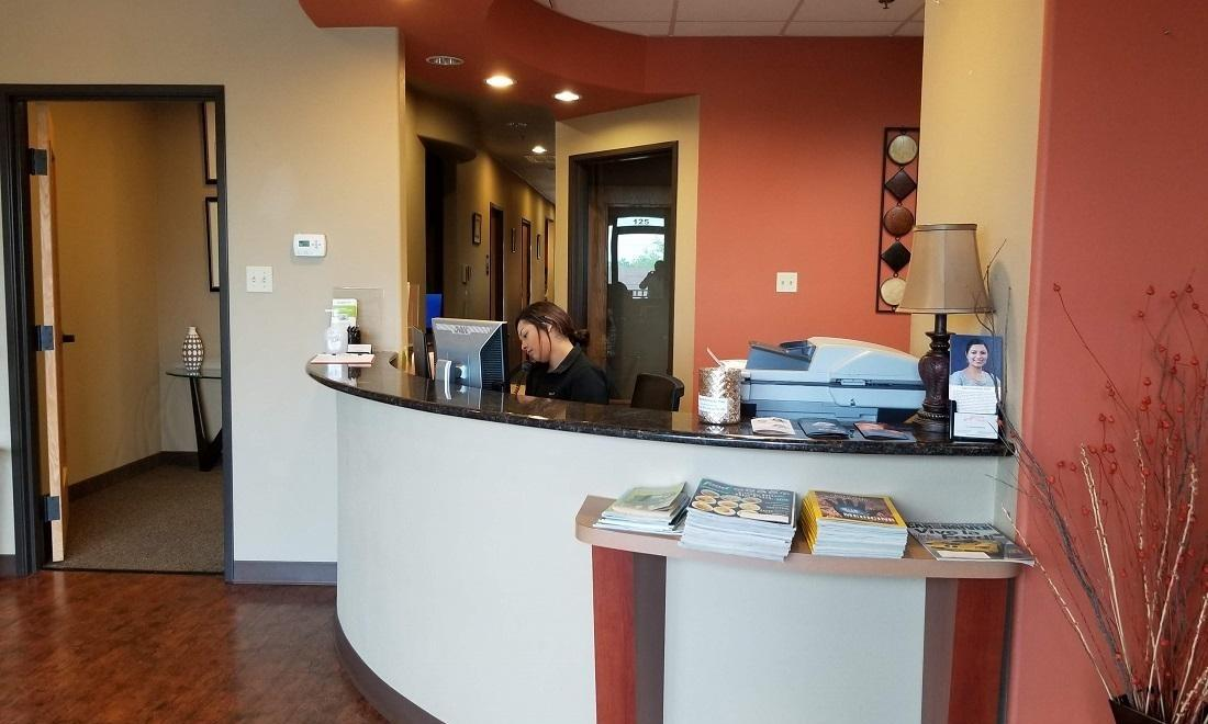 Front Desk at Rockwall, TX Dentist