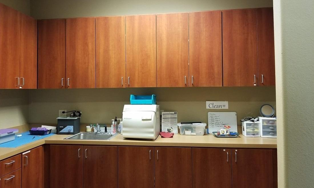 Sterilization Area at Rockwall, TX Dentist